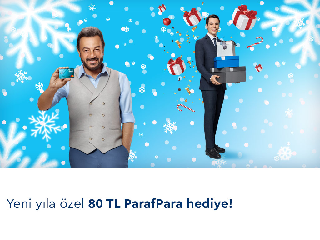 Paraf ile Yeni Yıla Özel 80 TL ParafPara Fırsatı!