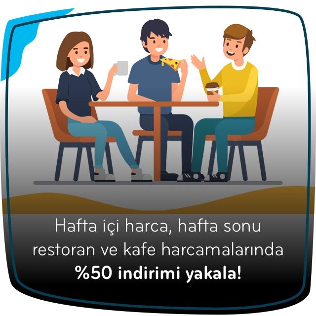 Parafree %50 Restoran ve Kafe İndirimi Fırsatı!