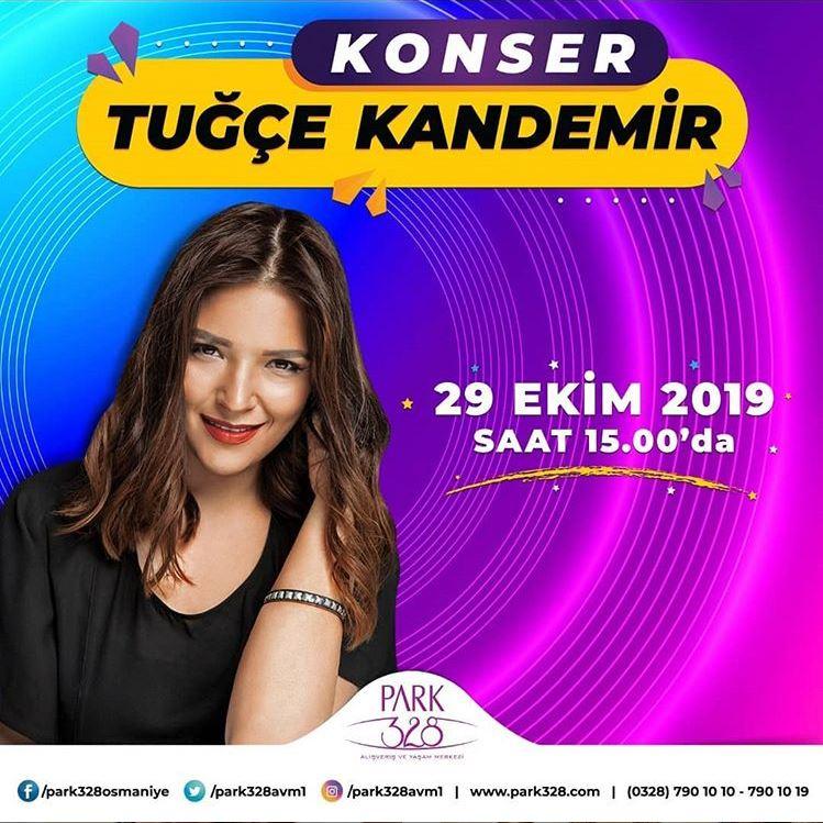Park 328 AVM Tuğçe Kandemir Konseri!