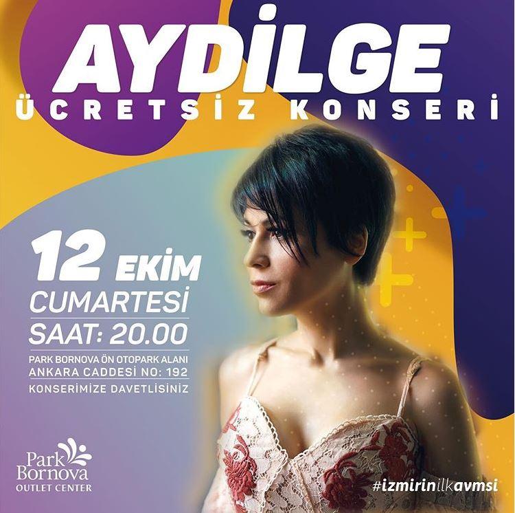Park Bornova Aydilge Ücretsiz Konseri!