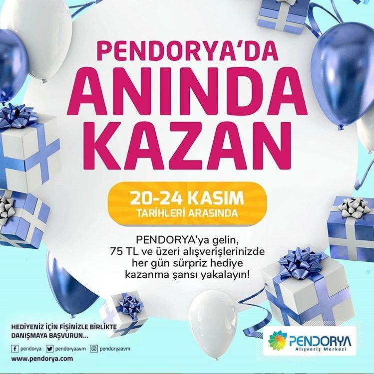 Pendorya'da Anında Kazan!