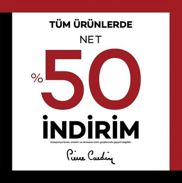 Pierre Cardin Happy Week İndirim Kampanyası!