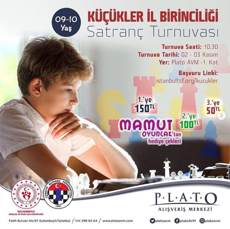 Plato AVM Küçükler İl Birinciliği Satranç Turnuvası!