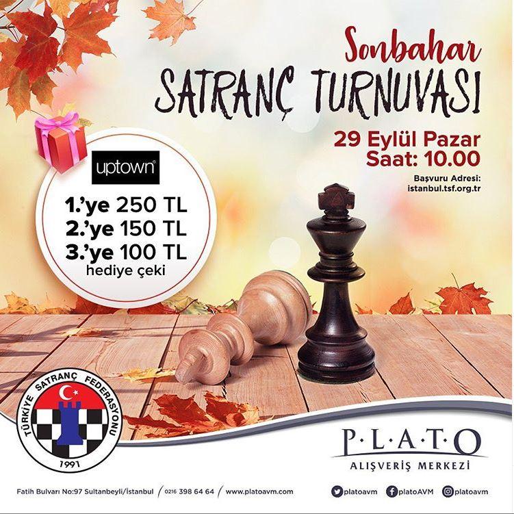 Plato AVM Sonbahar Satranç Turnuvası!