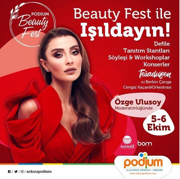 Ankara Podium Beauty Fest ile Işıldayın!