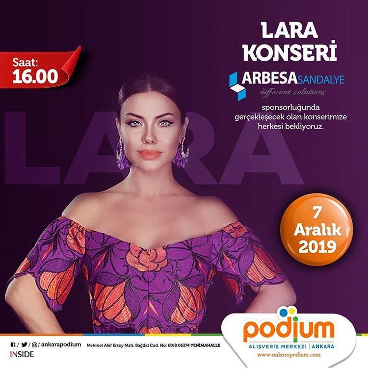 Ankara Podium Lara Konseri!