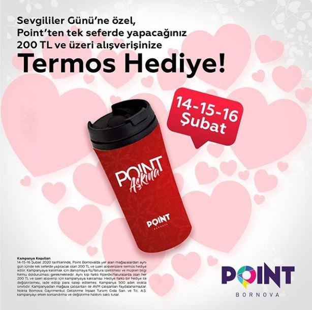 Point Bornova'dan hediyeniz var!