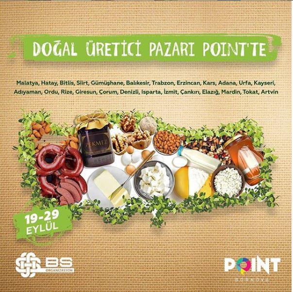 Point Bornova Doğal Üretici Pazarı!
