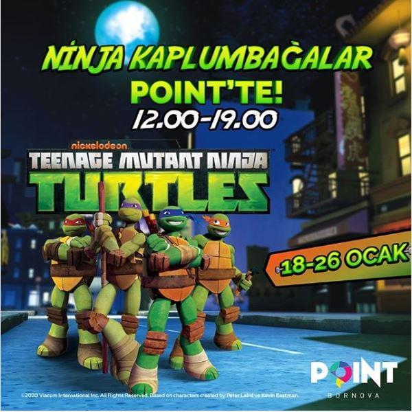 Point Bornova Ninja Kaplumbağalar Etkinliği!