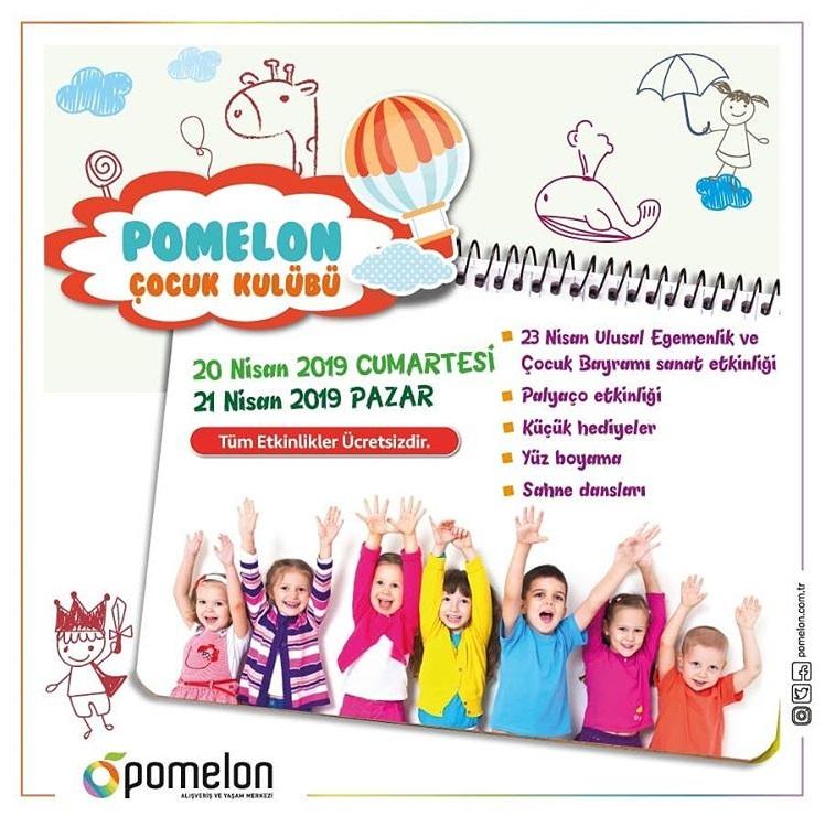 Pomelon Cocuk Kulubu 23 Nisan Etkinlikleri