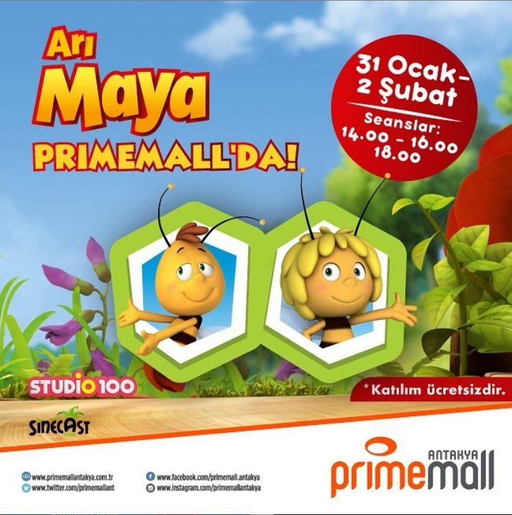 Çocuklar Arı Maya Primemall Antakya'ya Geliyor!