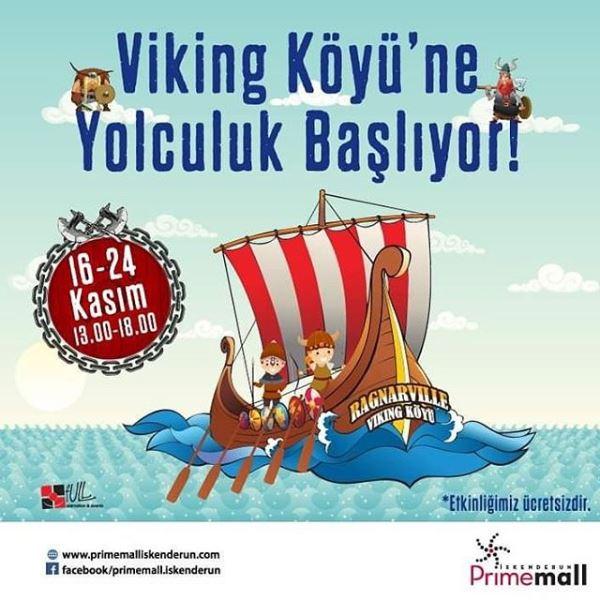 Primemall İskenderun'da Viking Köyü'ne yolculuk başlıyor!