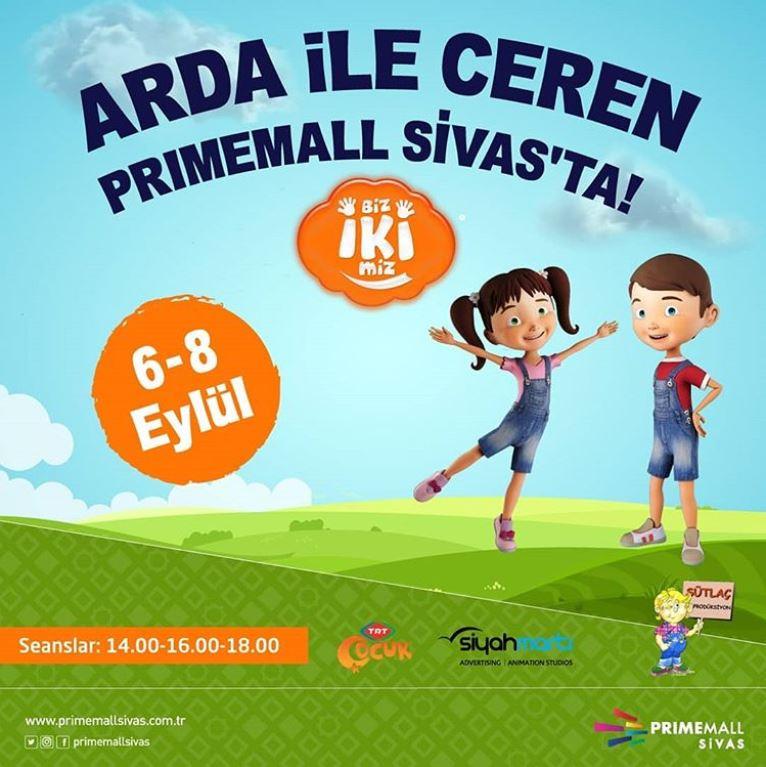 Primemall Sivas Arda ile Ceren Müzikal Gösterisi!