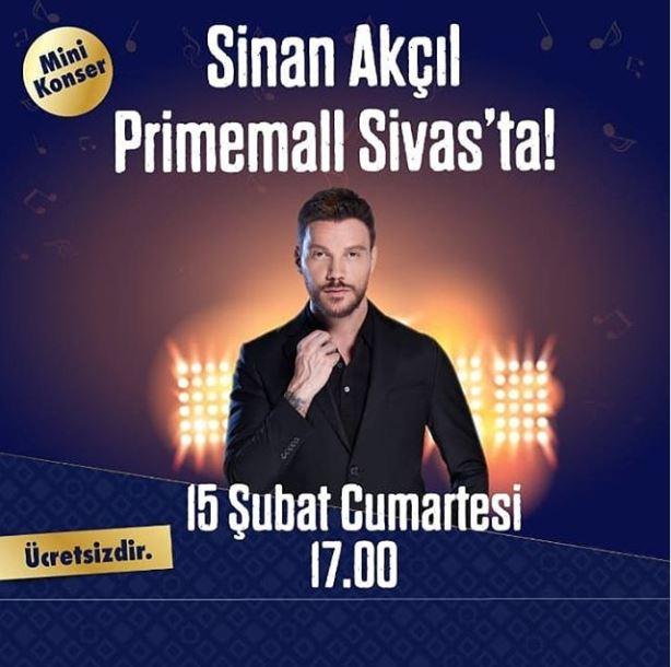 Primemall Sivas Sinan Akçıl Konseri!