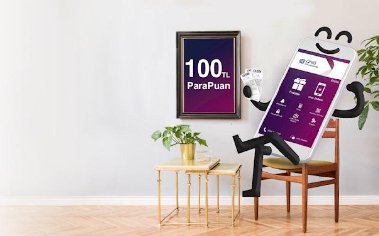 QNB Finans'tan Otomatik Fatura Ödeme talimatı verin 100 TL ParaPuan kazanın!