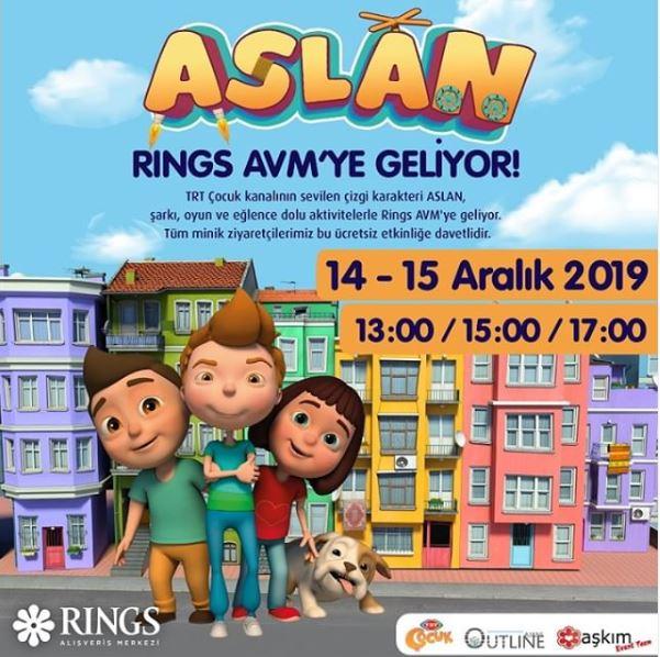 ASLAN Rings AVM'ye geliyor!