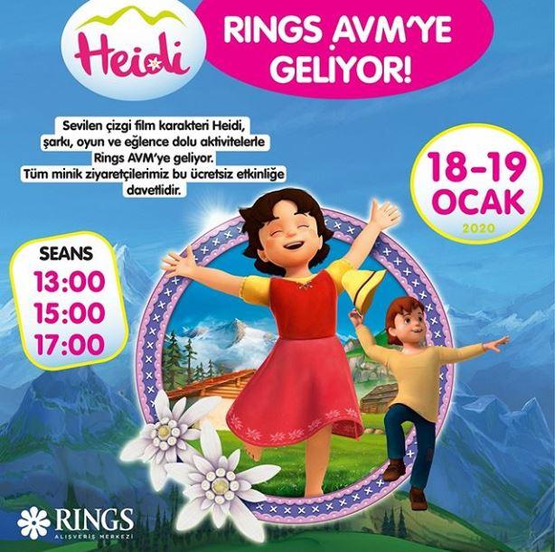 Rings AVM Heidi Müzikal Etkinliği!