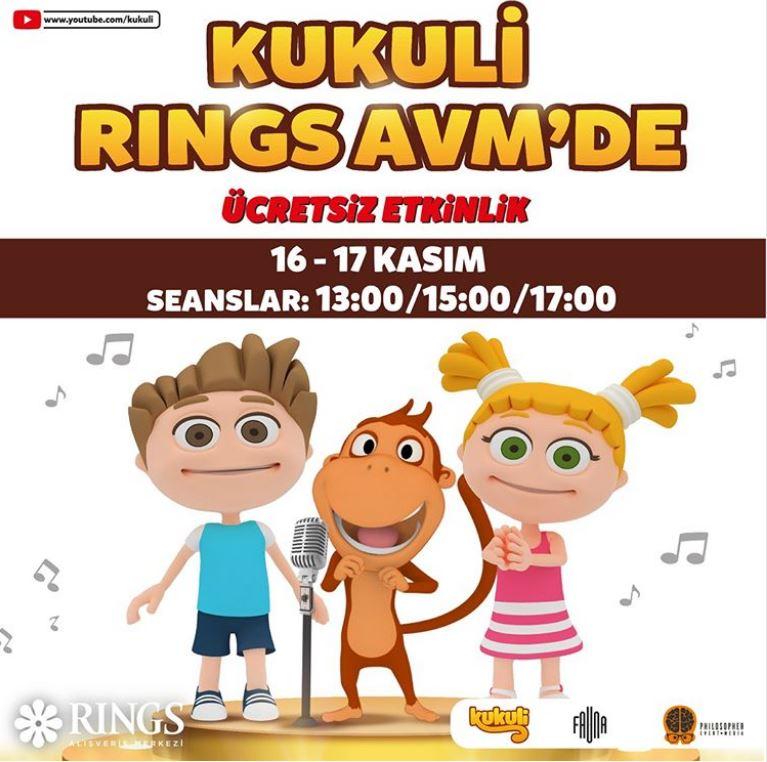 Rings AVM Kukuli ve Arkadaşları Müzikali!