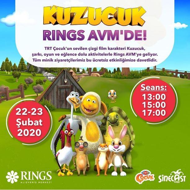 Rings AVM Kuzucuk Müzikal Etkinliği!