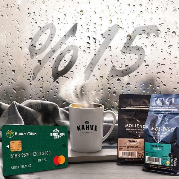 Sağlam Kart ile Kahve.com'da %15 ek indirim fırsatı!