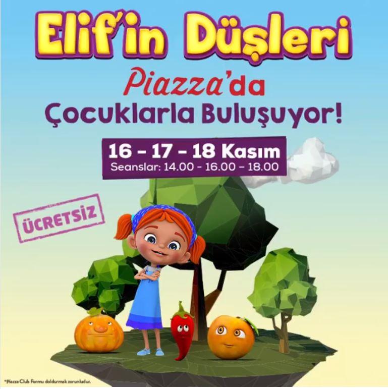 Elif'in Düşleri Müzikali Şanlıurfa Piazza'ya geliyor!