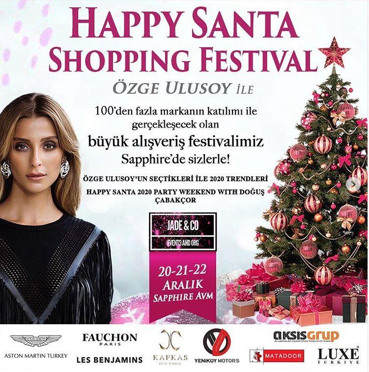 Sapphire'de Happy Santa Shopping Festival başlıyor!