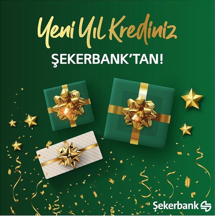 Şekerbank Yeni Yıl İhtiyaç Kredisi Kampanyası!