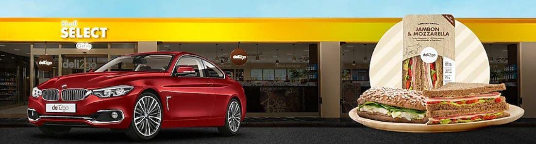 Shell Select deli2go sandviç BMW 4 Çekilişi!