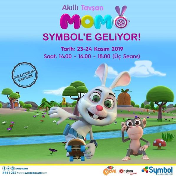 Symbol AVM Akıllı Tavşan Momo Müzikal Etkinliği!
