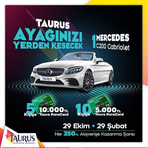 Taurus AVM Mercedes C200 Çekiliş Kampanyası!