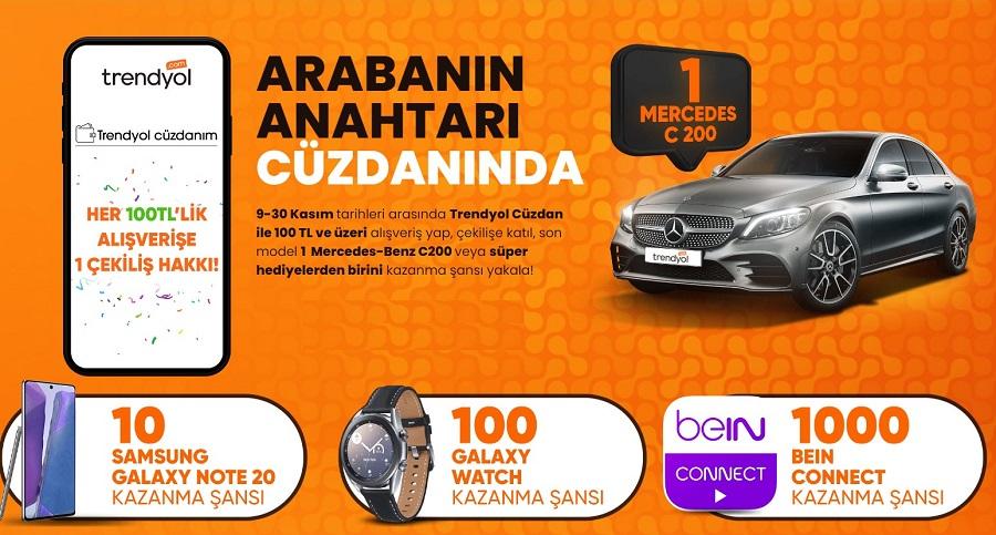Trendyol Mercedes C200 Çekiliş Kampanyası!