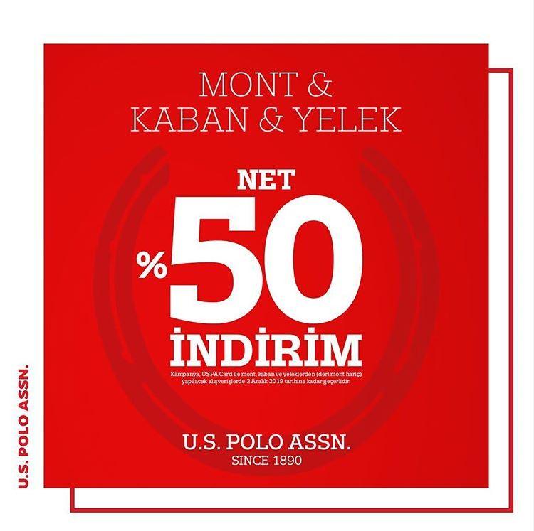 US Polo Assn Mont, Kaban ve Yelek Net %50 İndirimli!