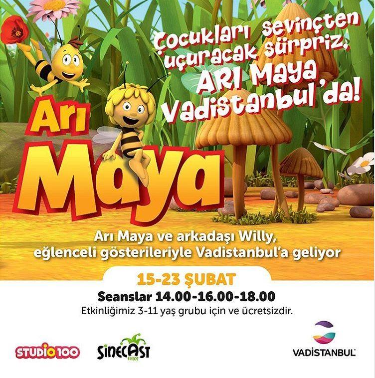 Vadistanbul Arı Maya Müzikli Gösterisi!