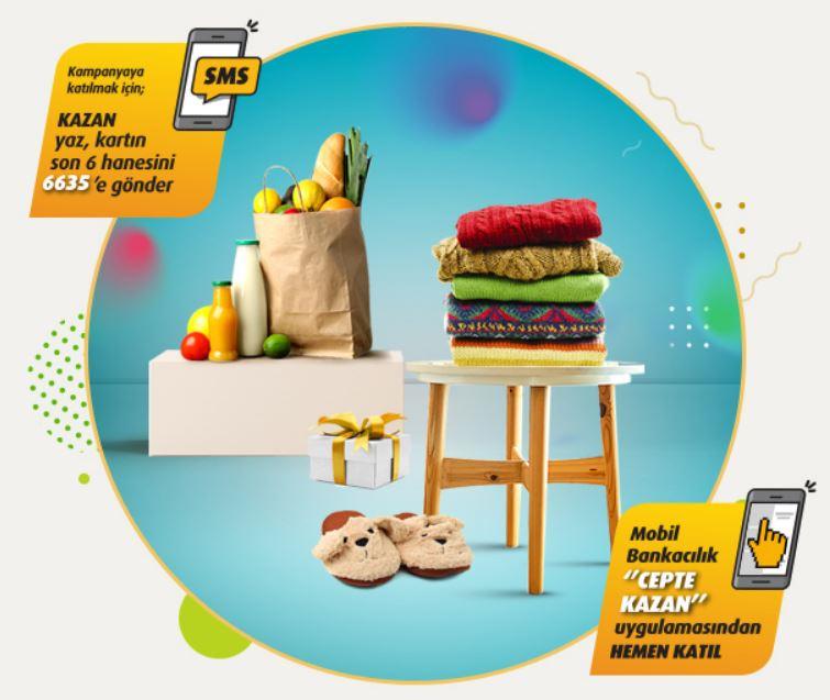VakıfBank Worldcard ile Gıda veya giyimde 50 TL Worldpuan Fırsatı!