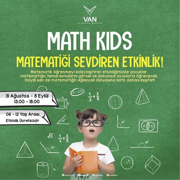 Van AVM Math Kids Etkinliği!