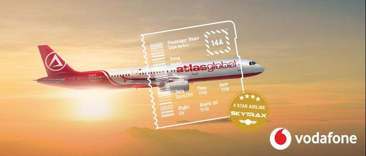 AtlasGlobal'de Vodafone'lulara Tüm Uçuşlarda %20 İndirim!