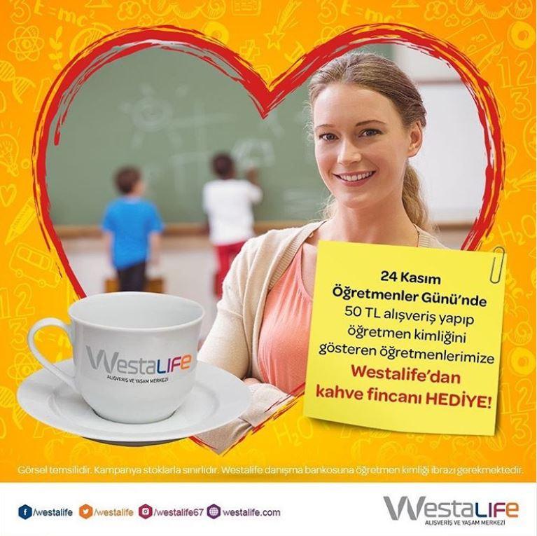 Westalife AVM Öğretmenler Günü Kampanyası!