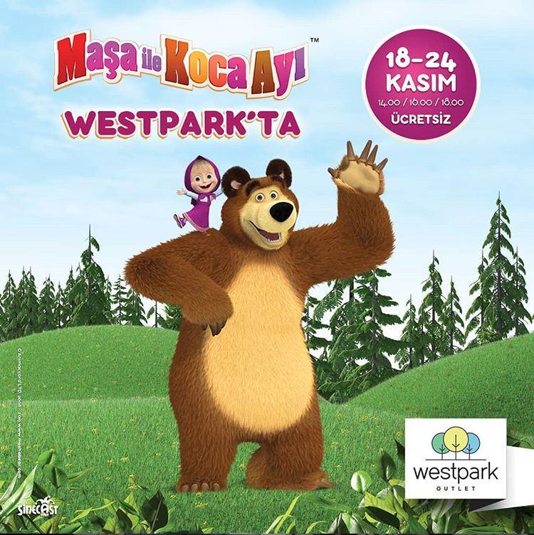 Westpark Outlet Maşa ile Koca Ayı Müzikal Etkinliği!