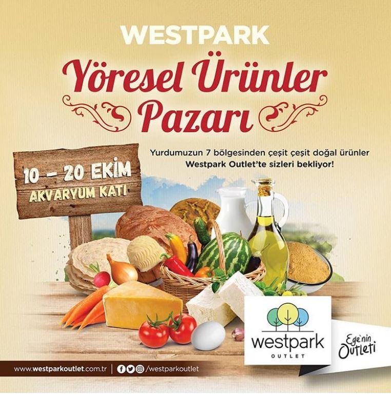 Westpark Outlet Yöresel Ürünler Pazarı!