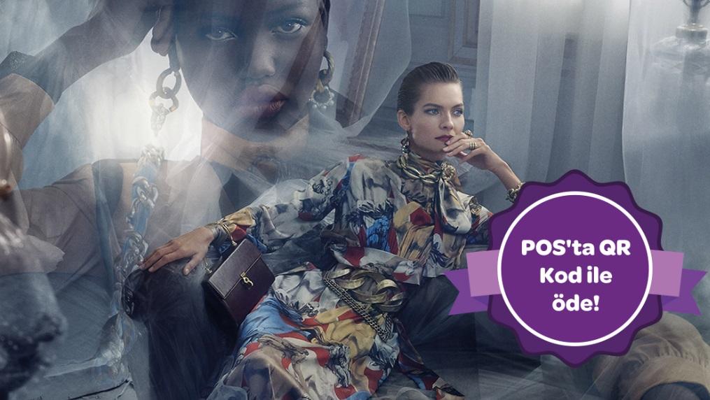Zara'da POS'ta QR Kod ile 150 TL ve üzeri işleminize 15 TL Worldpuan!
