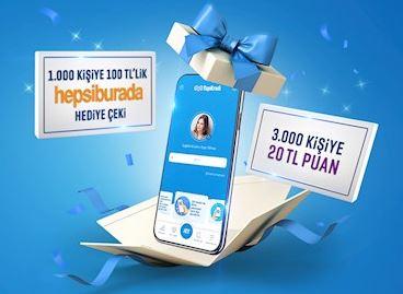 Yeni yıl hediyeleriniz Yapı Kredi Mobil'de!