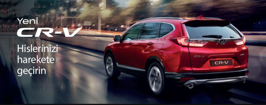 Eylül'de Yeni Honda CR-V, 100.000 TL'ye 12 ay %0 faiz fırsatıyla