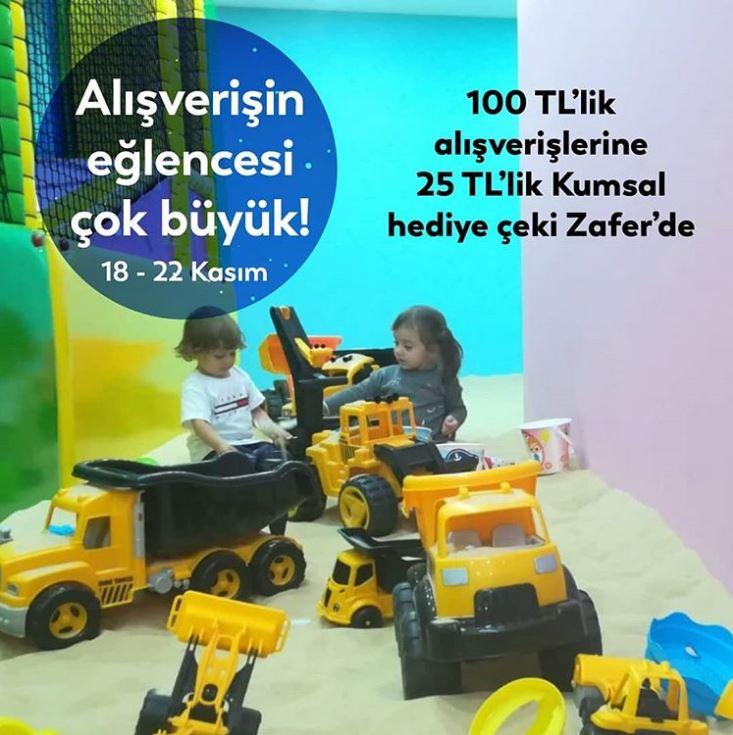 Zafer'den Kumsal'da Geçerli 25 TL Hediye Çeki Fırsatı!