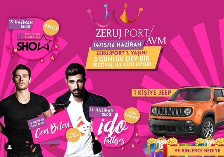Zerujport 1. Yaşını 3 Günlük Dev Bir Festival İle Kutluyor!