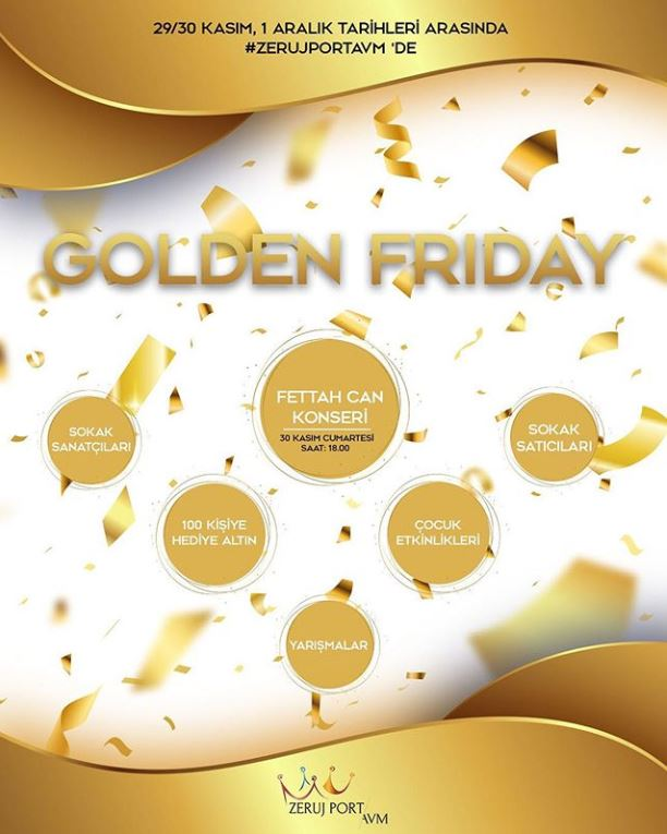 Zeruj Port Avm Golden Friday!